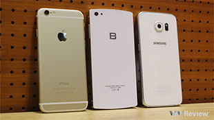 Bphone sánh bên iPhone 6 và Galaxy S6