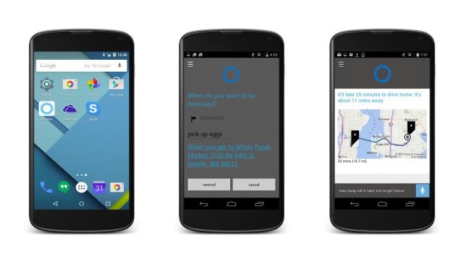 Cortana đặt chân lên cả iOS và Android