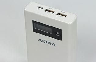 Dùng thử pin sạc dự phòng Akira 10.000 mAh