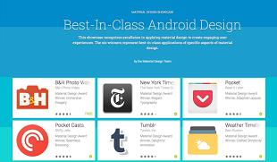 18 ứng dụng tốt nhất có giao diện Material Design