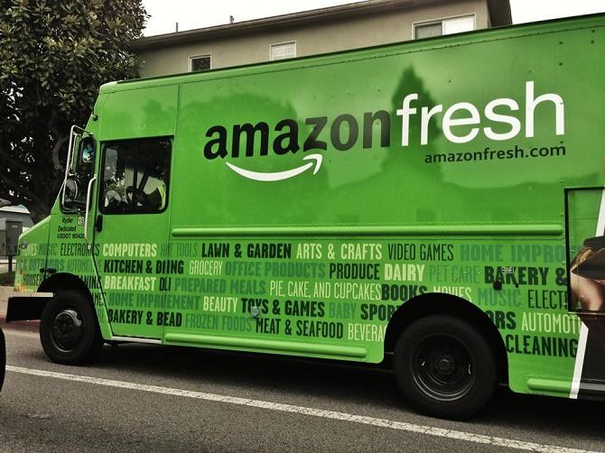Amazon tiếp tục mở ra một mặt trận mới để tranh đấu cùng các chuỗi cửa hàng vật lý: sữa, nông sản và thực phẩm cho trẻ em.