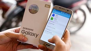 Giá Galaxy S6 xách tay chỉ còn 12 triệu đồng
