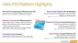 MediaTek công bố chip 8 nhân Helio P10