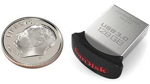 SanDisk giới thiệu USB 3.0 nhỏ nhất thế giới