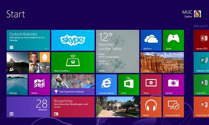 Windows 8 và 8.1 lần đầu vượt XP về thị phần