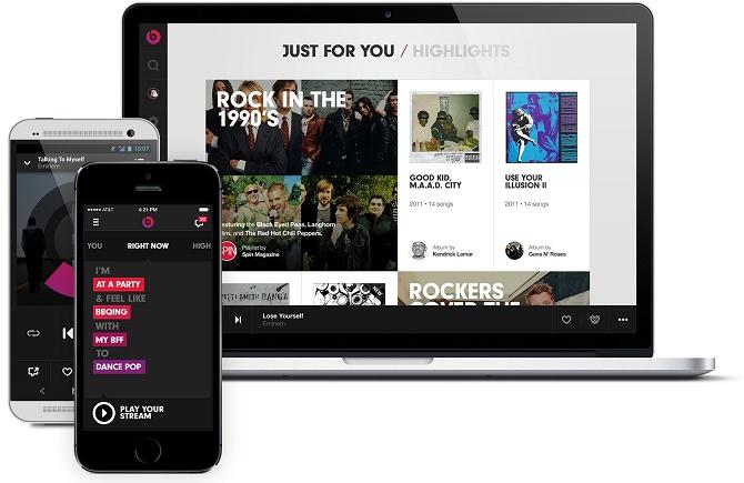 """""""Người thừa kế"""" của iTunes Radio và Beats Music"""