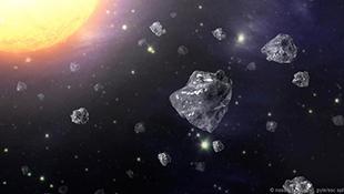 Phát hiện kim cương trong thiên thạch rơi xuống Trái Đất