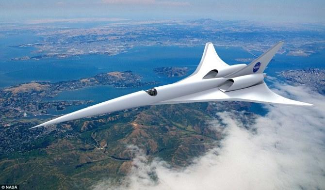 NASA chi 2,3 triệu USD để hồi sinh máy bay siêu thanh