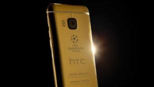 HTC One M9 có bản mạ vàng 24k mừng chung kết Champion League