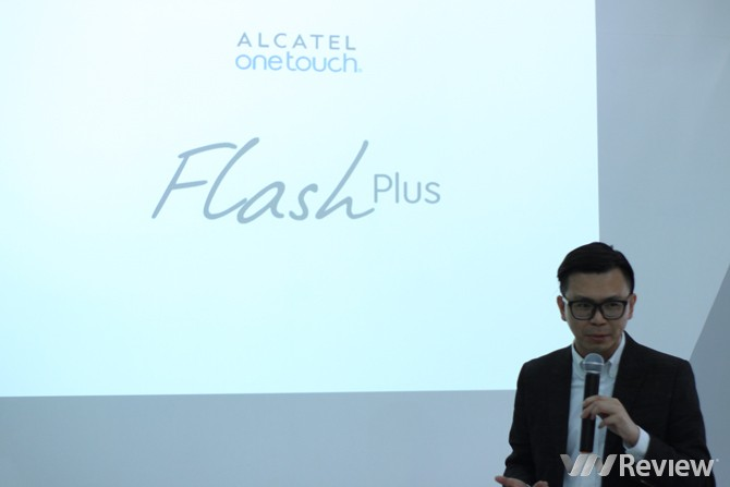 Alcatel ra mắt smartphone Flash Plus cho tín đồ selfie, giá 3,12 triệu đồng
