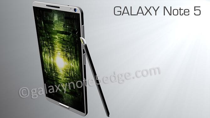 Galaxy Note 5 sẽ được trang bị cổng USB Type-C, bộ nhớ UFC và pin dung lượng lớn