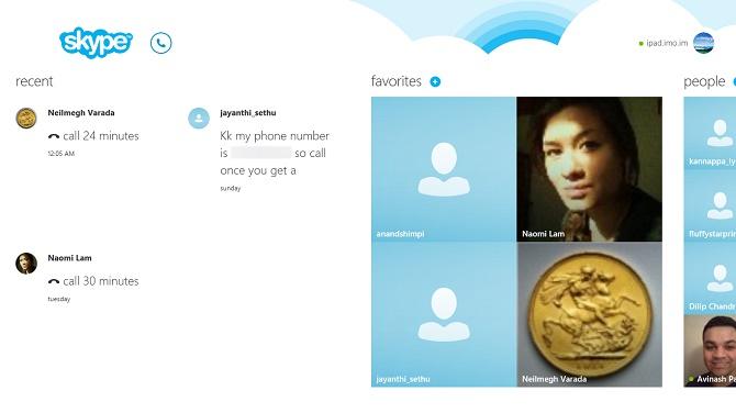 Skype phiên bản cảm ứng bị khai tử