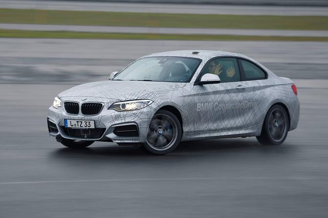 BMW phối hợp cùng Baidu ra mắt xe tự lái