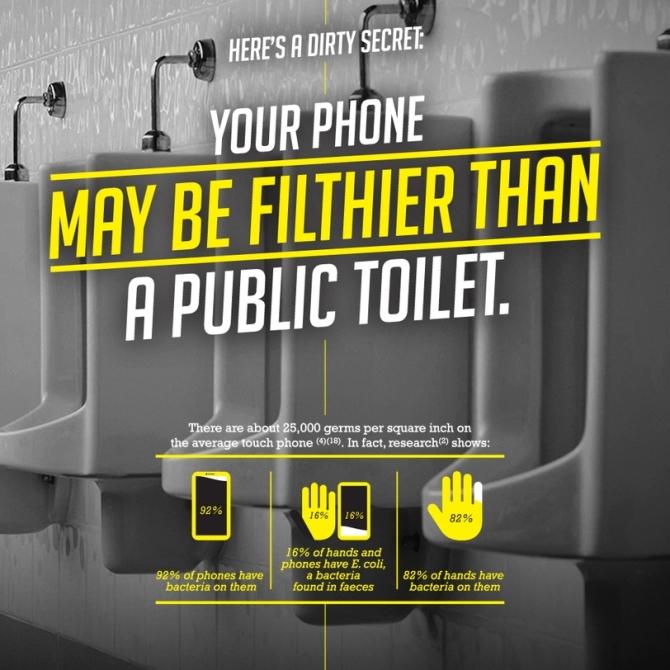 Trong một mẩu quảng cáo khá lạ lùng dành cho Xperia M4 Aqua, Sony đã đăng tải lại những sự thật rất đáng sợ về smartphone với thông điệp rằng: Bạn cần phải... rửa smartphone.