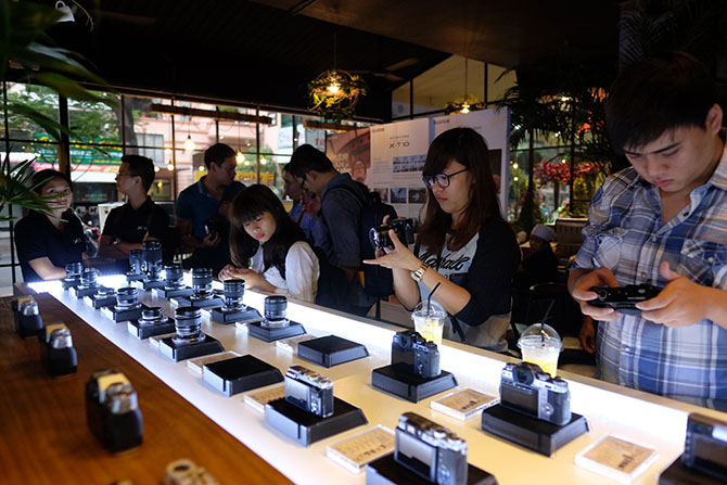 Fujifilm X-T10 ra mắt tại Việt Nam