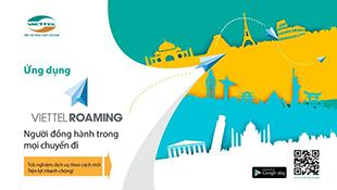 Ra mắt ứng dụng Viettel Roaming giúp quản lý cước chuyển vùng