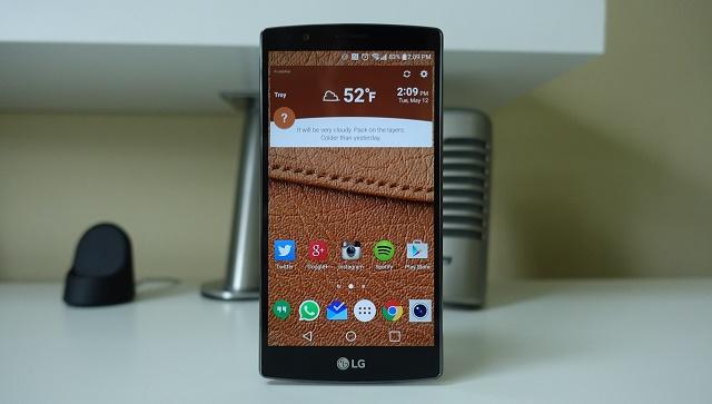 LG G4 gặp lỗi không nhận đầy đủ cảm ứng