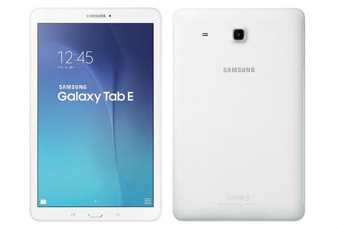 Samsung trình làng Galaxy Tab E, màn hình 9.6 inch độ phân giải 720p