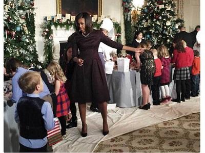 Bộ ảnh Giáng Sinh tại Nhà Trắng chụp bằng iPhone 6 Plus