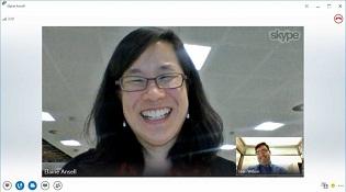 Đã có thể thực hiện cuộc gọi video giữa Lync và Skype