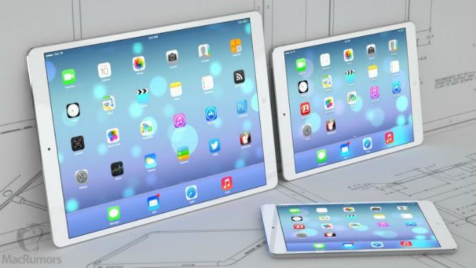Mã nguồn iOS 9 tiết lộ màn hình iPad Pro có độ phân giải 2732x2048 pixel