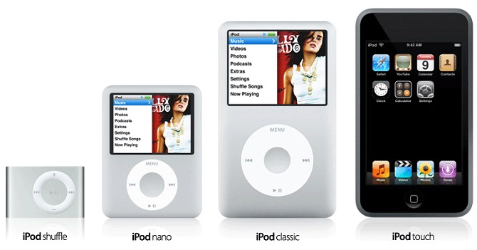 iPod vẫn được quan tâm hơn Apple Watch