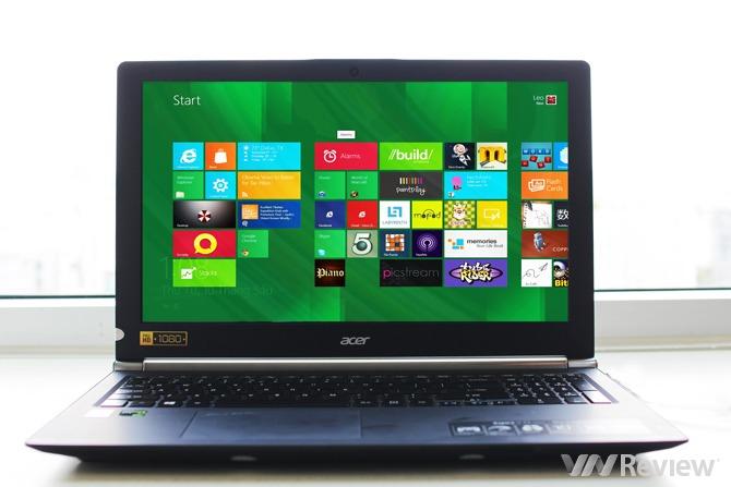 Trên tay laptop Acer Aspire V-Nitro
