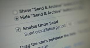 Gmail cho phép hoàn tác gửi thư