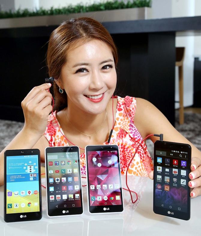 LG giới thiệu LG Band Play, smartphone chuyên nghe nhạc