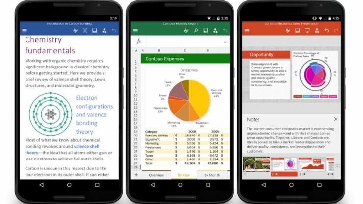 Microsoft chính thức phát hành Office cho Android