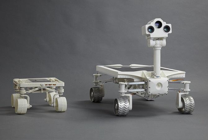 Audi làm xe tự hành trên mặt trăng