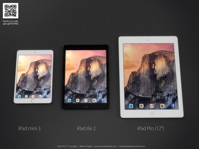 Chân dung iPad Pro qua tin đồn