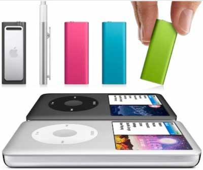 iPod Classic và iPod Shuffle có thể bị xóa sổ