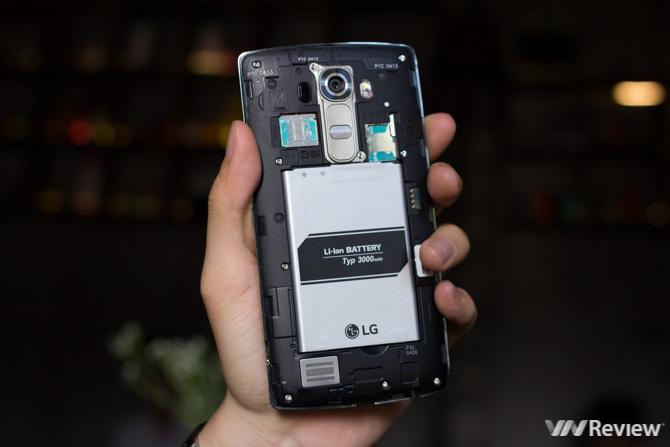 Đánh giá chi tiết LG G4 chính hãng