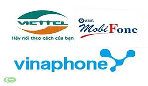 Viettel, MobiFone, VinaPhone nhất loạt tuyên bố không tăng cước 3G