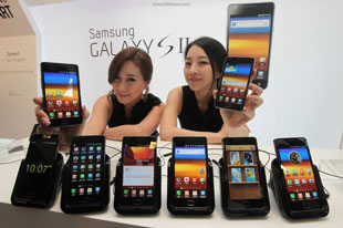 Samsung dẫn đầu về thị phần smartphone