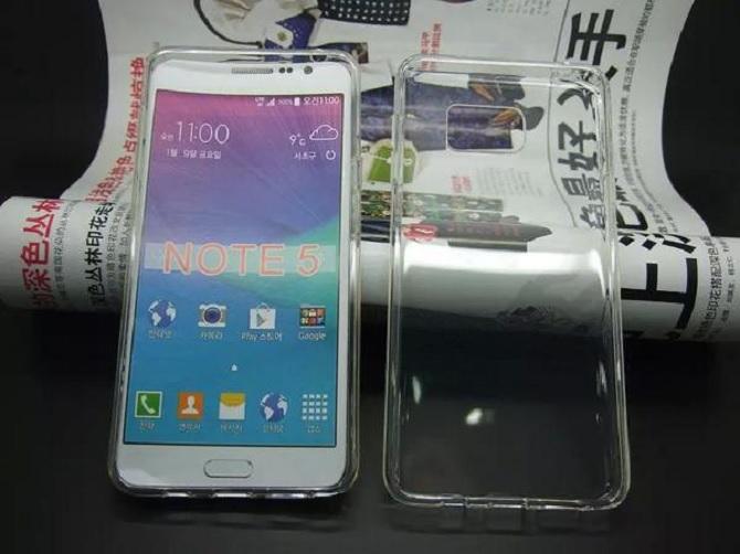 Rò rỉ hình ảnh thiết kế Galaxy Note 5?