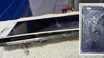 iPhone 6 Plus phát nổ tại Hồng Kông
