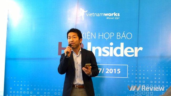 Gaku Echizenya, CEO of VietnamWorks