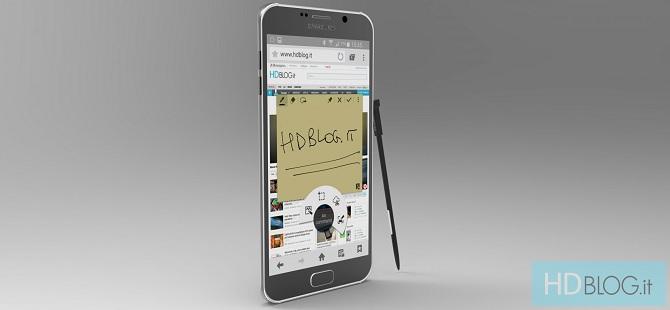 Lộ diện bảng vẽ CAD của Galaxy Note 5