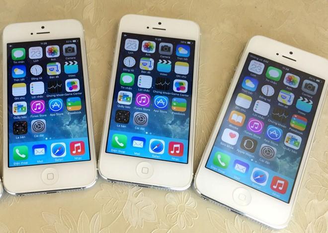iPhone đời cổ chưa kích hoạt hút khách Hà Nội