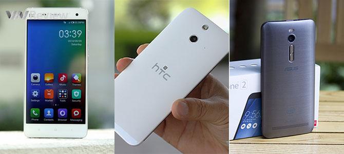 3 smartphone Android tầm trung đáng mua hiện nay