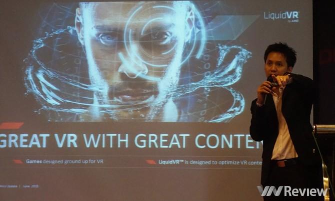 AMD ra mắt dòng card đồ họa Radeon R9 và R7 300 Series tại Việt Nam