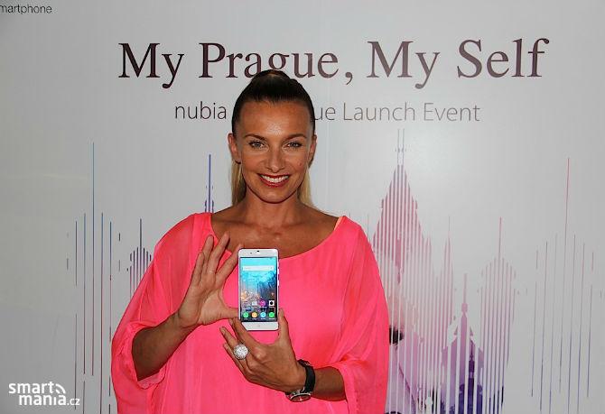 ZTE trình làng Nubia My Prague, mỏng 5,5 mm, màn full HD, camera trước 8MP