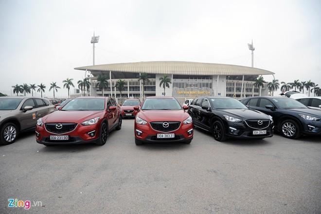 10 ô tô bán chạy nhất nửa đầu 2015 ở Việt Nam