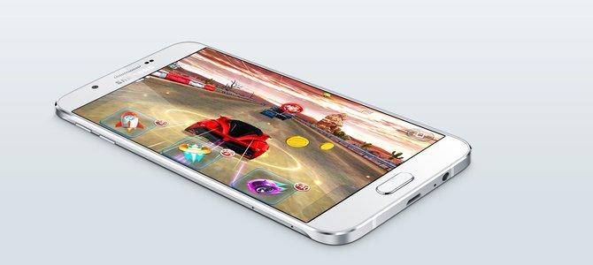 Samsung chính thức ra mắt Galaxy A8, khung kim loại mỏng 5,9 mm