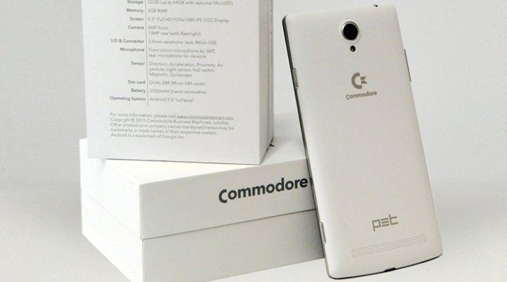 Commodore PET - Smartphone chơi game màn hình 5.5 inch