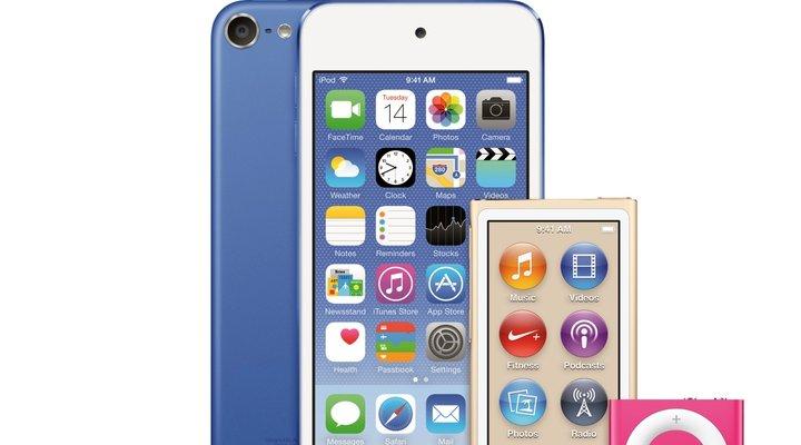 Apple trình làng iPod Touch mới với chip A8 và camera 8 MP