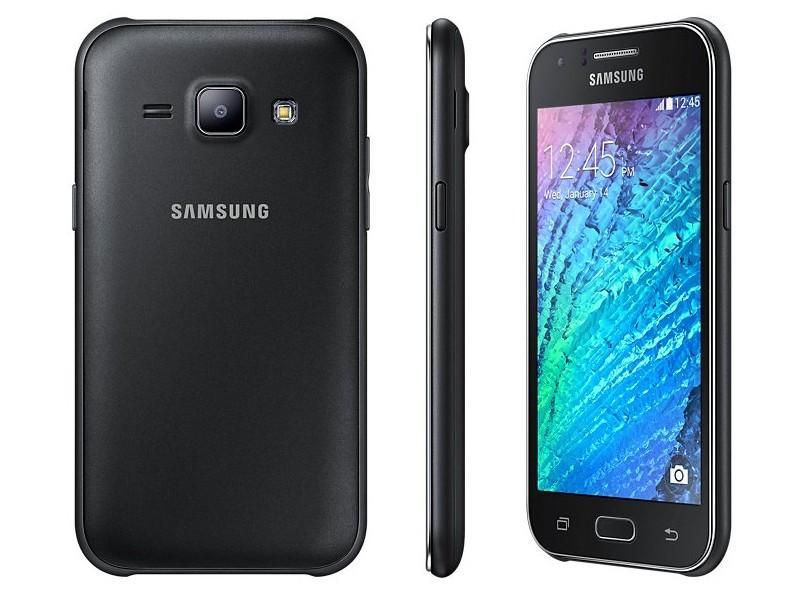 Samsung Galaxy J1 SM J100H Black Unlocked Smartphone
