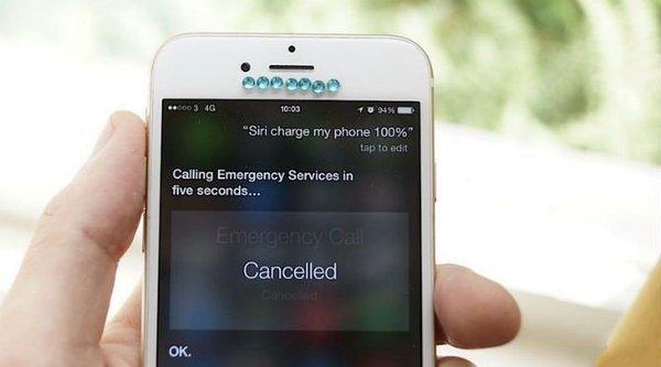 Siri gặp lỗi tự gọi điện tới... cảnh sát!